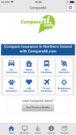 CompareNI Insurance Comparison  screenshots 1
