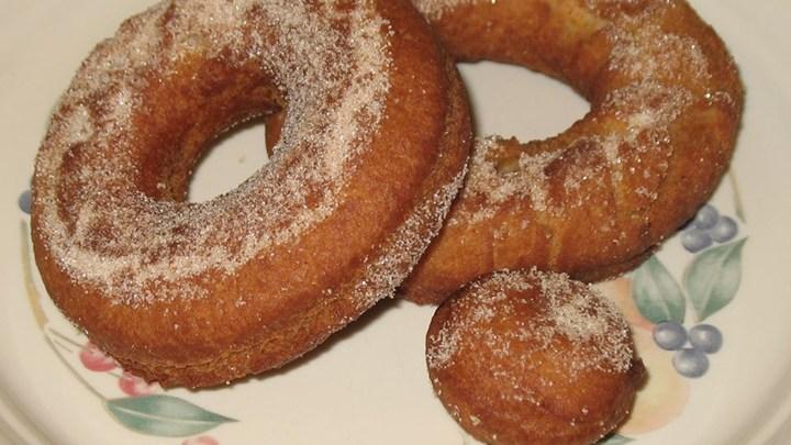 Herman Applesauce Doughnuts Recipe