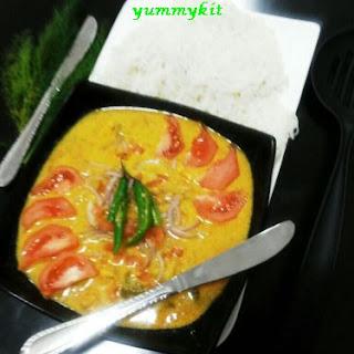 Kerala Prawns Curry in Coconut Milk Recipe