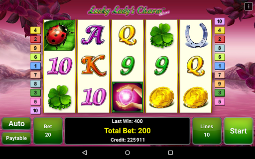 Lucky Lady's Charm Deluxe Slot  screenshots 10