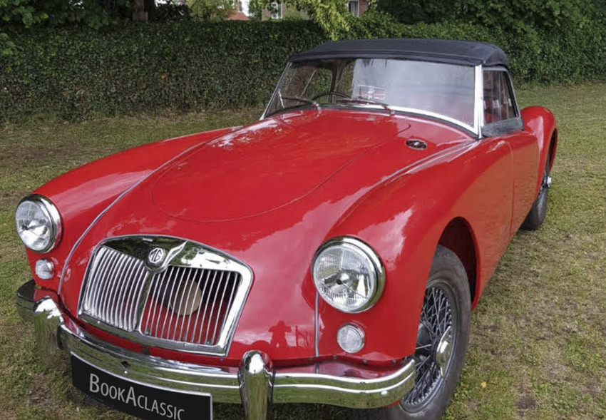 MG A Hire Wylam