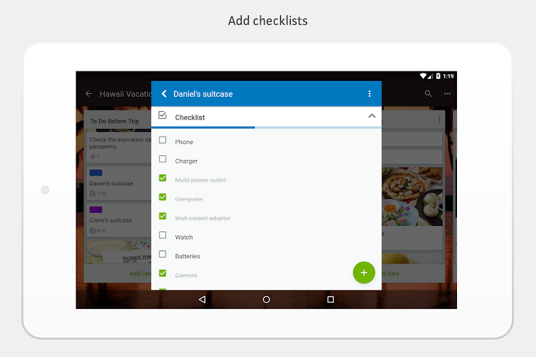 Screenshot 15 for Trello's Android app'