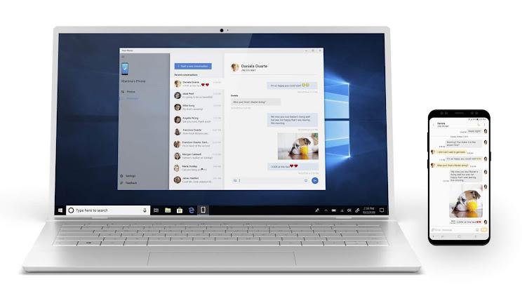 Hướng dẫn gửi nhận tin nhắn và chép ảnh giữa Android và Windows 10 dễ dàng