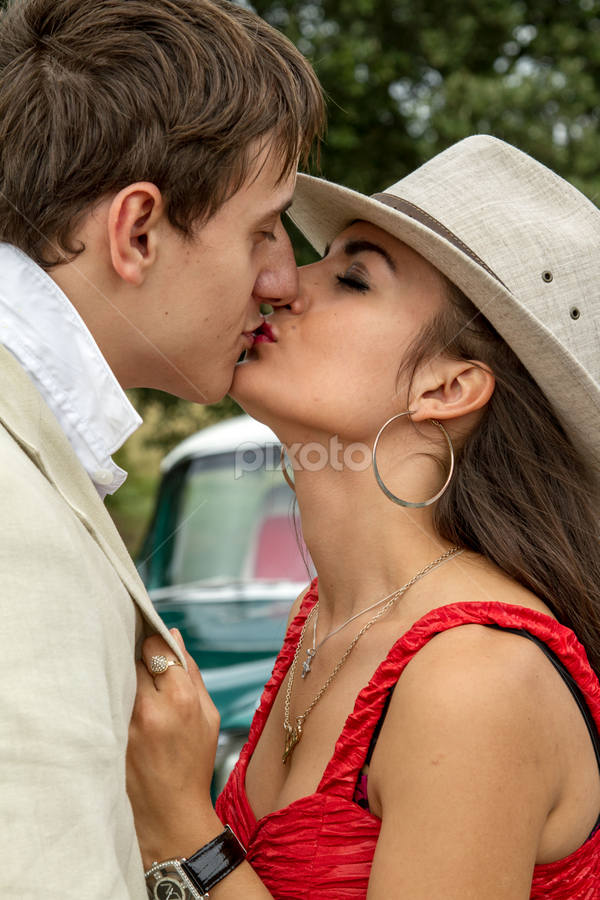 kiss by Paul Phull - People Couples (  )