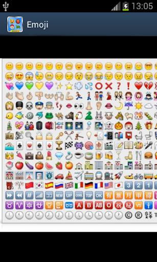 Emoji - 表情符号为Android设备