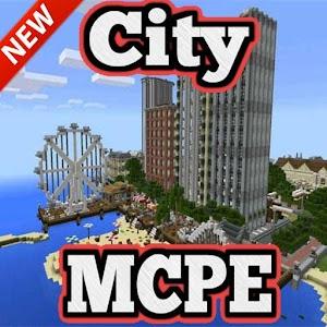 Deep Ocean City map for MCPE 1.1 Icon