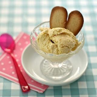 Apricot Ice Cream with Amaretto Recipe