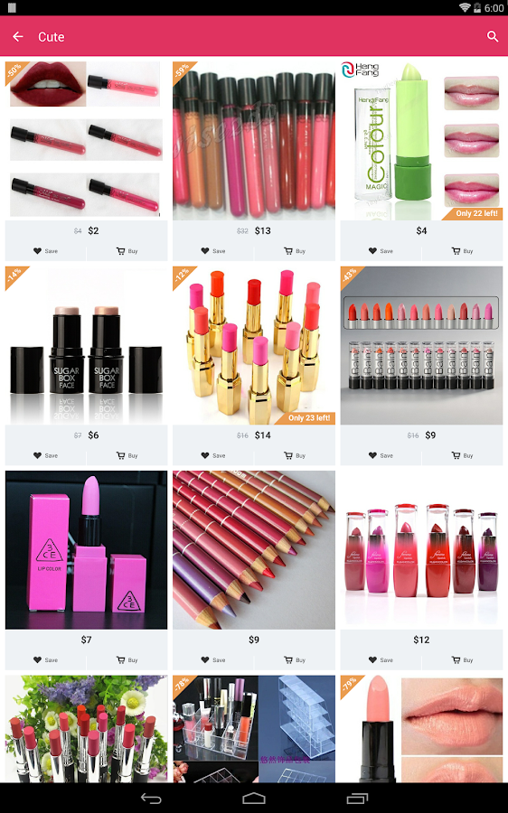 Cute Beauty Shopping Android Apps on Google Play