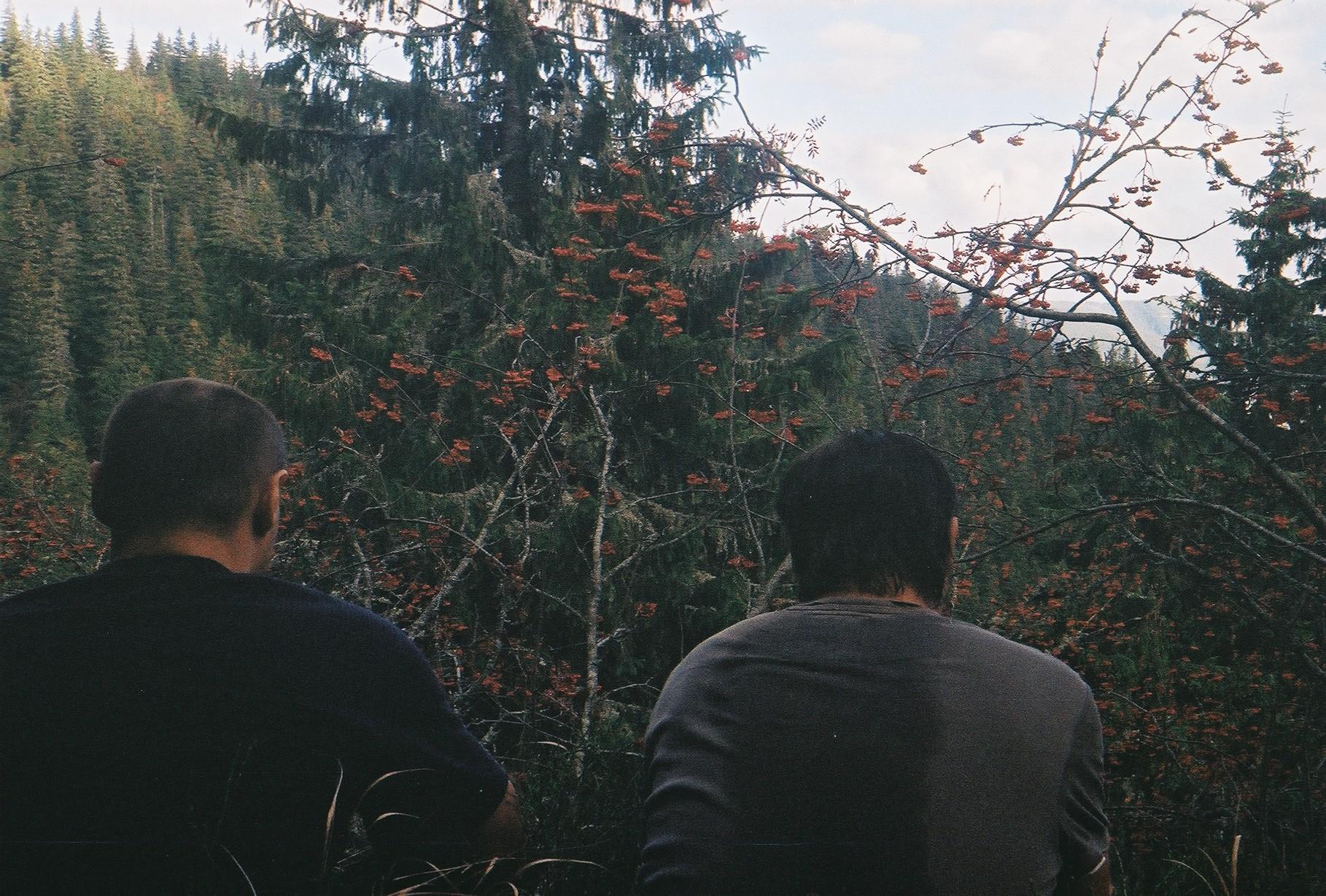 Вид з траверсу Сивані