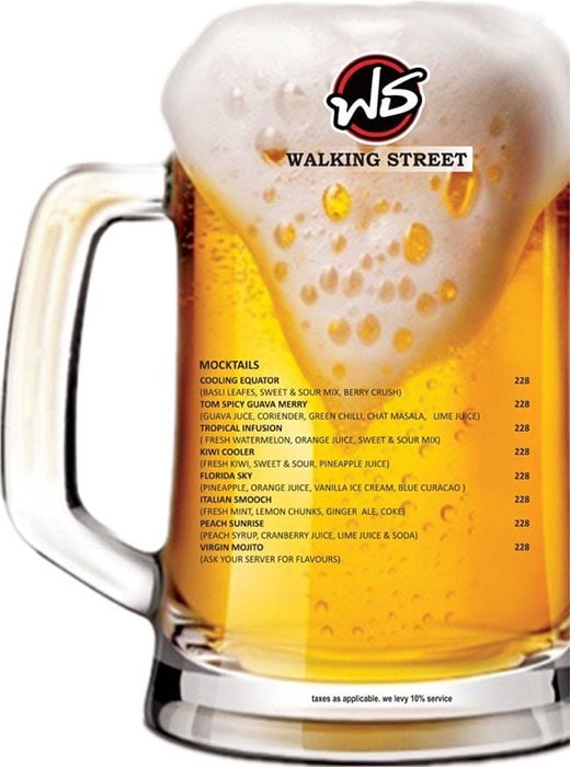 Walking Street menu 9