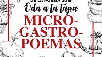 Detalle del cartel del concurso que organiza Nobel Almería.