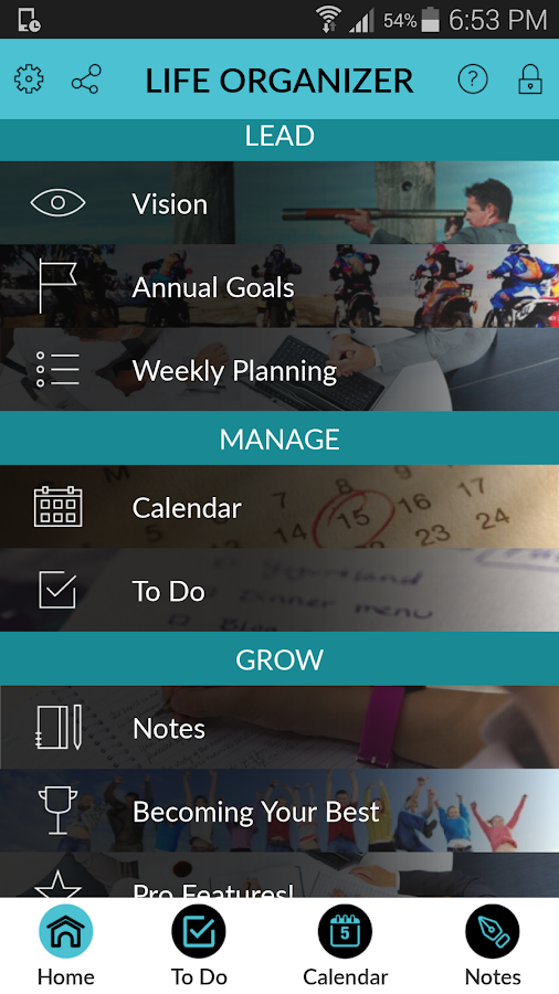 Life Organizer- screenshot