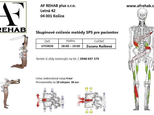 AF REHAB Košice - Rehabilitácia   Fyzioterapia v  Košice cd56dac8ff