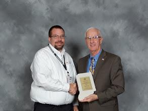 Photo: 2015 IMAA President's Award, Todd Pester of Vibra-Tech, Inc.