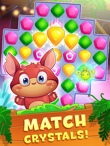 Crystal Crunch: New Match 3 Puzzle | Swap Gems 1.6.1 screenshots 6