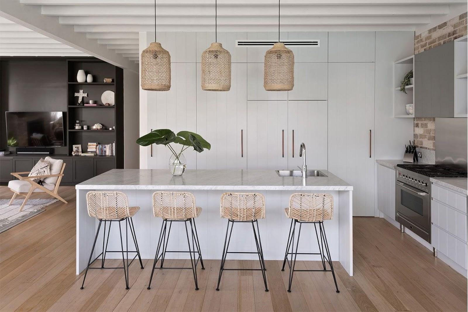 Inspirasi Konsep Interior Minimalis dengan Elemen Rotan - sumber: www.arsitag.com
