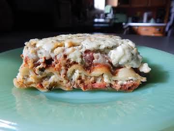 Mmmm Good Lasagna