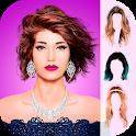 Hair Styler Photo Editor icon