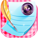 Photo Writer Caption Maker icon