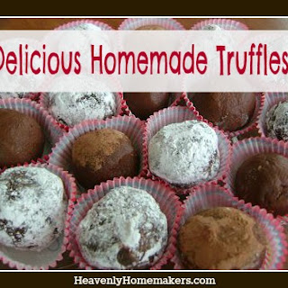 Peanut Butter Truffles and Chocolate Caramel Truffles