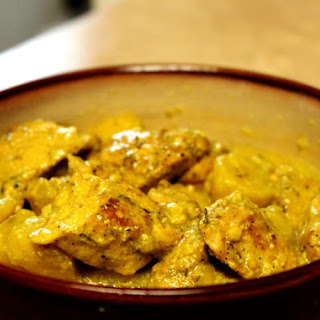 Jamaican Curry Chicken.