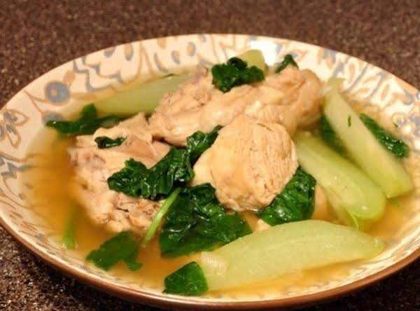 Chicken Tinola Soup