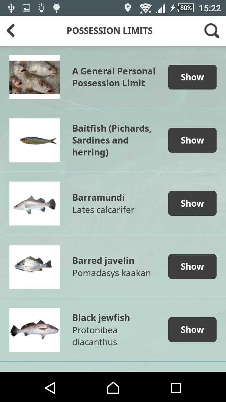 Скриншот NT Fishing Mate