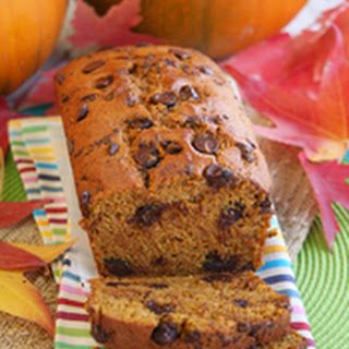 Chocolate Chip Pumpkin Bread.