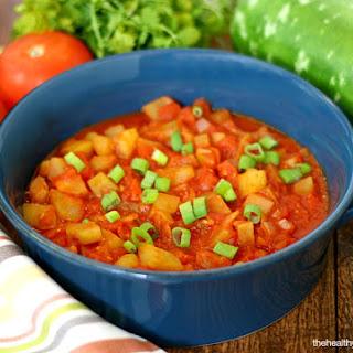 Italian Cucuzza Squash Stew (Vegan, Gluten-Free, Paleo-Friendly).