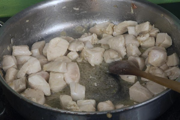 Add two tablespoons of olive oil to the skillet over medium heat, and cook...