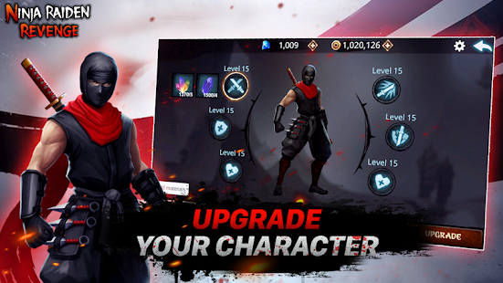Ninja Raiden Revenge v1.3 APK (Mod Unlocked) Full