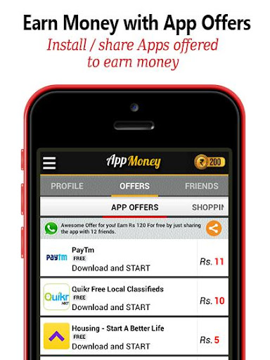 Download Free Recharge : App Money Google Play softwares
