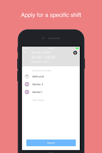 STAFFOMATIC - Employee App- screenshot thumbnail