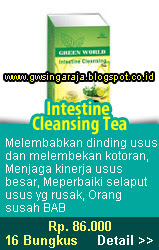 intestine cleansing tea