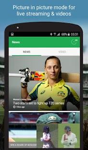 Cricket Australia Live - náhled