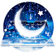Crescent Moon Light Gravity Keyboard