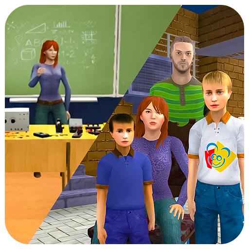 Baixar Virtual Mom Escola Professor Vida Simulator para Android
