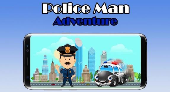 Police Man Adventure - náhled