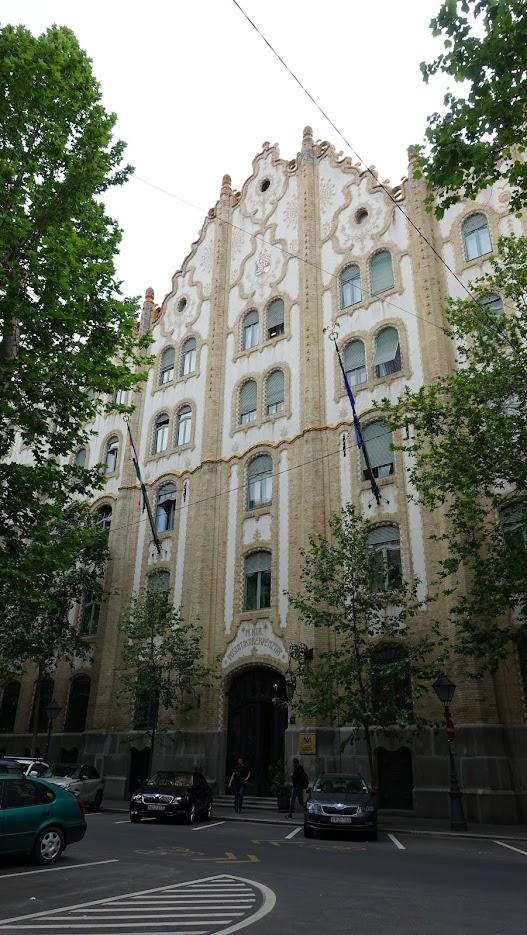 郵政儲蓄銀行舊址,現在是匈牙利財政部