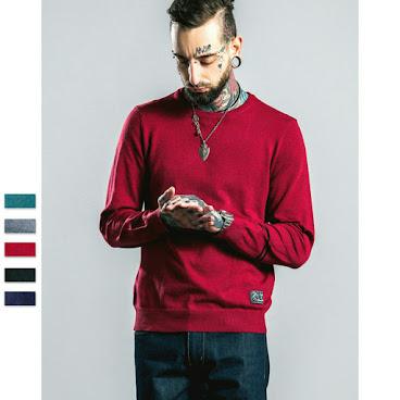 (預售款)🔥HOT ITEM🔥16ss美式純色針織冷衫 五色入