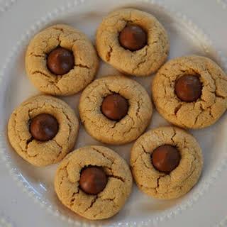 Peanut Butter Kiss Cookies.