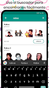 Stickers de Youtubers para WhatsApp Screenshot