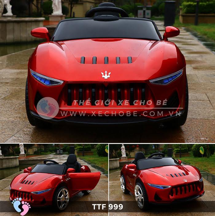 Ô tô điện đồ chơi trẻ em cao cấp TTF-999 4