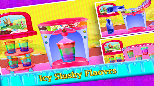 DIY Rainbow Slush Maker - Ice Food  screenshots 3