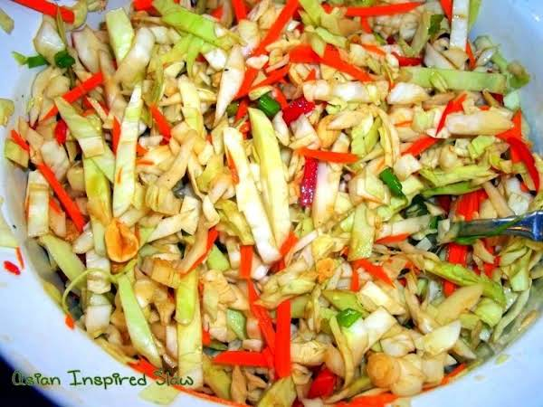 Asian Inspired Slaw Recipe