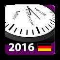 2016 Deutscher Kalender icon