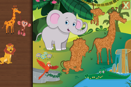 Animal Jigsaw Puzzle Toddlers 3.5 screenshots 7