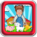 Animal Games : Zoe's Farm icon