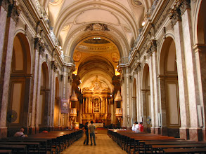 Photo: Inside the cathedral
