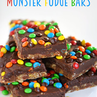 Monster Fudge Bars.